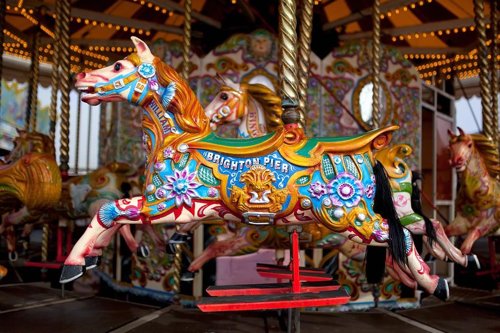 video production company brighton ferris wheel horse