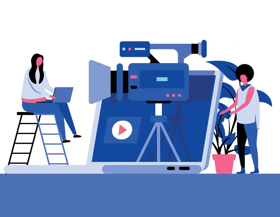 film camera cartoon