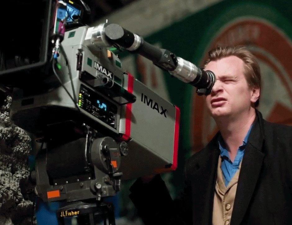 Christopher Nolan film camera